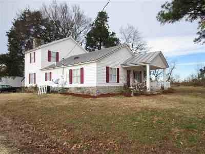 Tipton County Single Family Home For Sale: 2169 Pickens Store