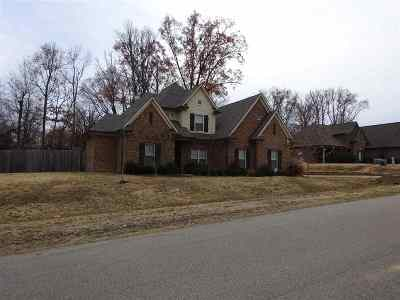 Olive Branch Single Family Home Contingent: 14106 Chapel Ridge