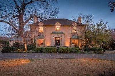 Memphis TN Single Family Home For Sale: $1,150,000