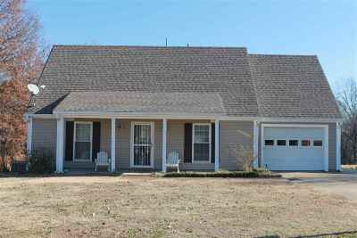 Tipton County Single Family Home For Sale: 730 Travis