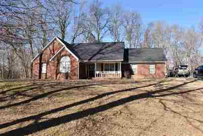 Tipton County Single Family Home For Sale: 837 Susans