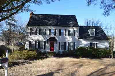 Collierville Single Family Home For Sale: 1087 Petersburg