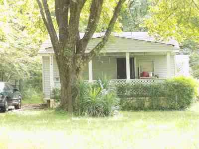 Memphis TN Single Family Home For Sale: $27,900