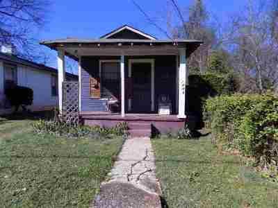 Memphis TN Single Family Home For Sale: $9,500