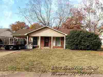 Memphis TN Single Family Home For Sale: $34,900