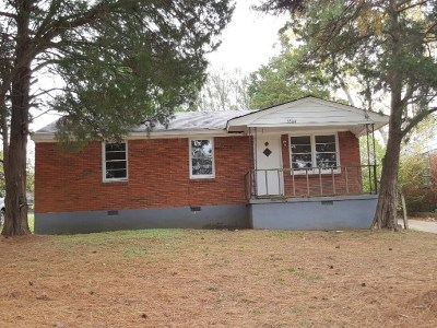 Memphis Single Family Home For Sale: 3504 Yokley
