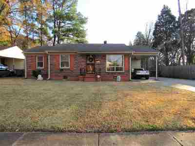Memphis Single Family Home For Sale: 3973 Fizer