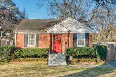 Memphis Single Family Home For Sale: 3620 Marion