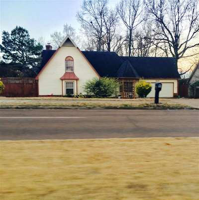 Memphis Single Family Home For Sale: 8509 Chimneyrock