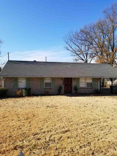 Memphis Single Family Home For Sale: 3301 Brevard