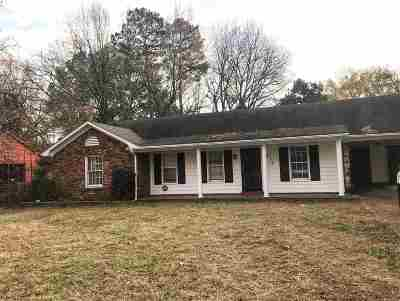 Memphis Single Family Home For Sale: 2015 Grovehaven