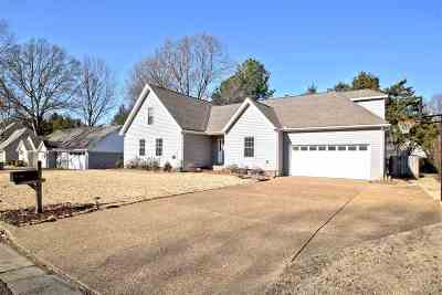 Collierville Single Family Home For Sale: 266 Glen Echo