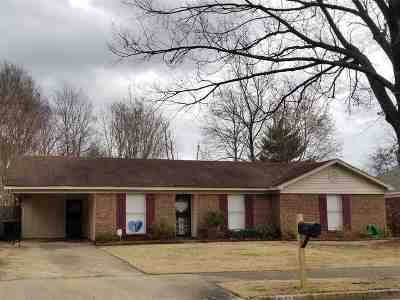 Memphis TN Single Family Home For Sale: $72,000