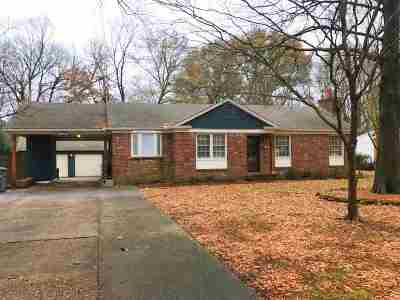 Memphis Single Family Home For Sale: 4703 Crossover