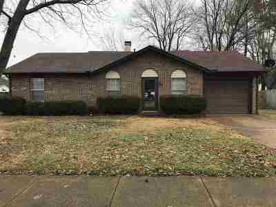 Millington Single Family Home For Sale: 7040 Pam