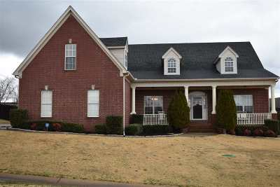 Atoka Single Family Home For Sale: 42 Colonial Woods