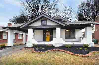 Memphis Single Family Home For Sale: 756 N Evergreen