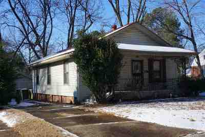 Memphis TN Single Family Home For Sale: $99,000