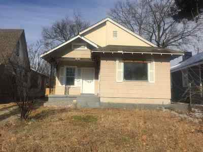 Memphis TN Single Family Home For Sale: $32,000