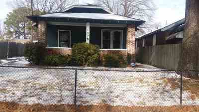 Memphis TN Single Family Home For Sale: $24,900