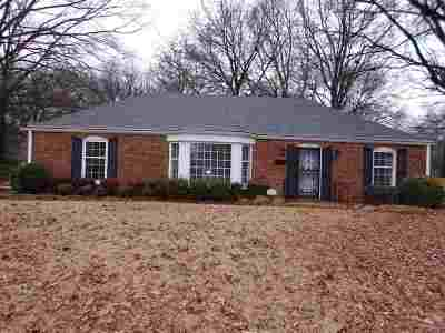 Memphis TN Single Family Home For Sale: $165,000