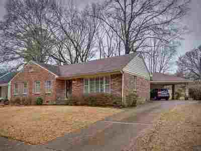 Memphis Single Family Home For Sale: 45 N Fernway