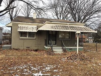 Memphis TN Single Family Home For Sale: $11,900