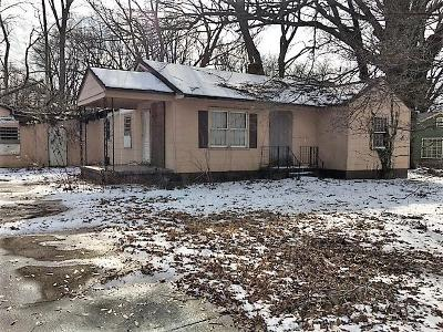 Memphis TN Single Family Home For Sale: $9,900