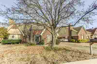 Memphis TN Condo/Townhouse For Sale: $95,000