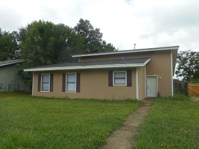 Memphis TN Single Family Home For Sale: $36,000