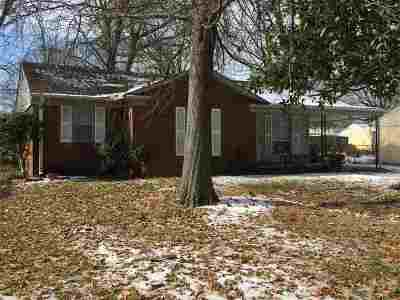 Memphis TN Single Family Home For Sale: $77,900
