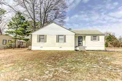 Memphis TN Single Family Home For Sale: $69,950