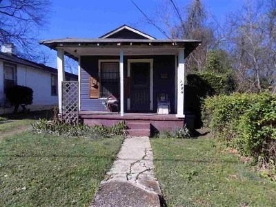Memphis TN Single Family Home For Sale: $9,500