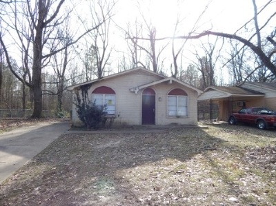 Memphis TN Single Family Home For Sale: $31,500