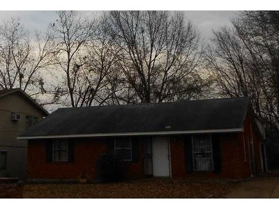 Memphis TN Single Family Home For Sale: $14,500