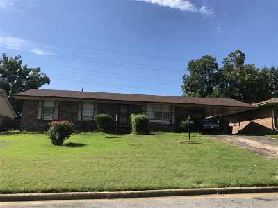 Memphis TN Single Family Home For Sale: $87,500