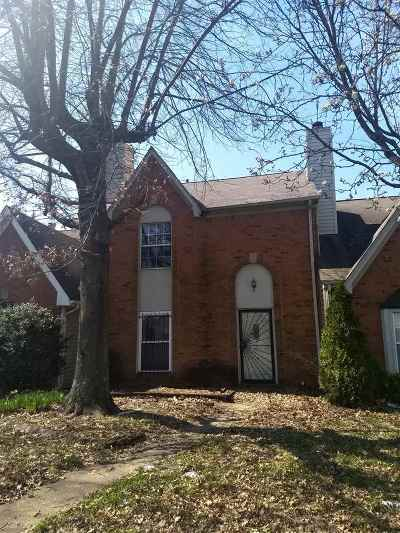 Memphis TN Condo/Townhouse For Sale: $72,500