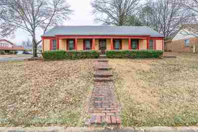 Memphis TN Single Family Home For Sale: $100,000