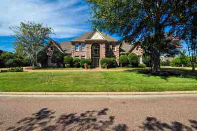Collierville Single Family Home For Sale: 2460 Halle