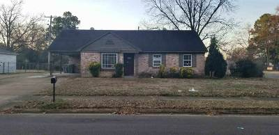 Memphis TN Single Family Home For Sale: $35,000