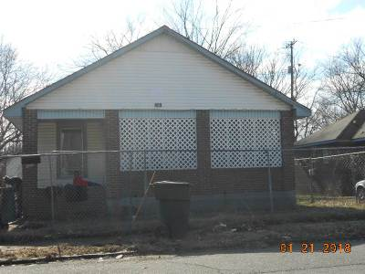 Memphis TN Single Family Home For Sale: $28,500