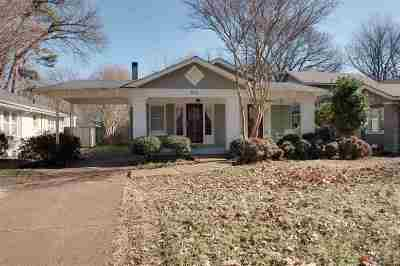 Memphis TN Single Family Home For Sale: $199,750