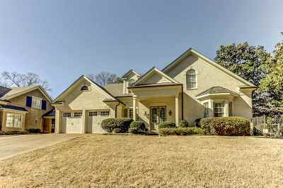 Memphis Single Family Home For Sale: 187 Ridgefield