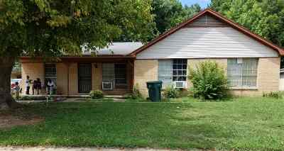 Memphis TN Two Family Home For Sale: $69,000