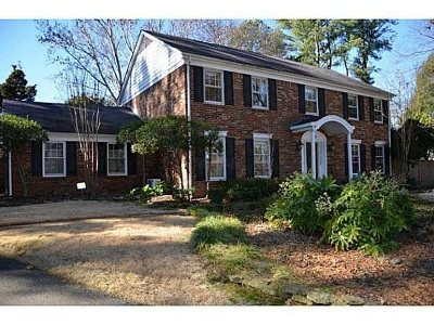 Single Family Home Sold: 6740 Hickory Crest