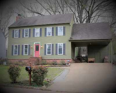 Collierville Single Family Home For Sale: 373 Dove Valley
