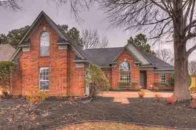 Bartlett Single Family Home For Sale: 6672 Booth Forrest