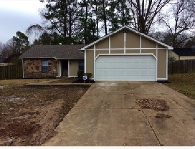 Memphis TN Single Family Home For Sale: $126,900