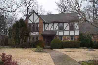 Memphis TN Single Family Home For Sale: $279,000
