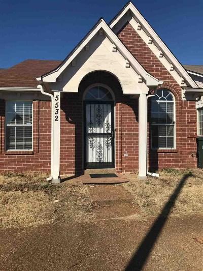 Memphis TN Condo/Townhouse For Sale: $73,000